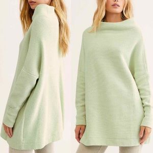 Free People Ottoman Slouchy Tunic Sweater